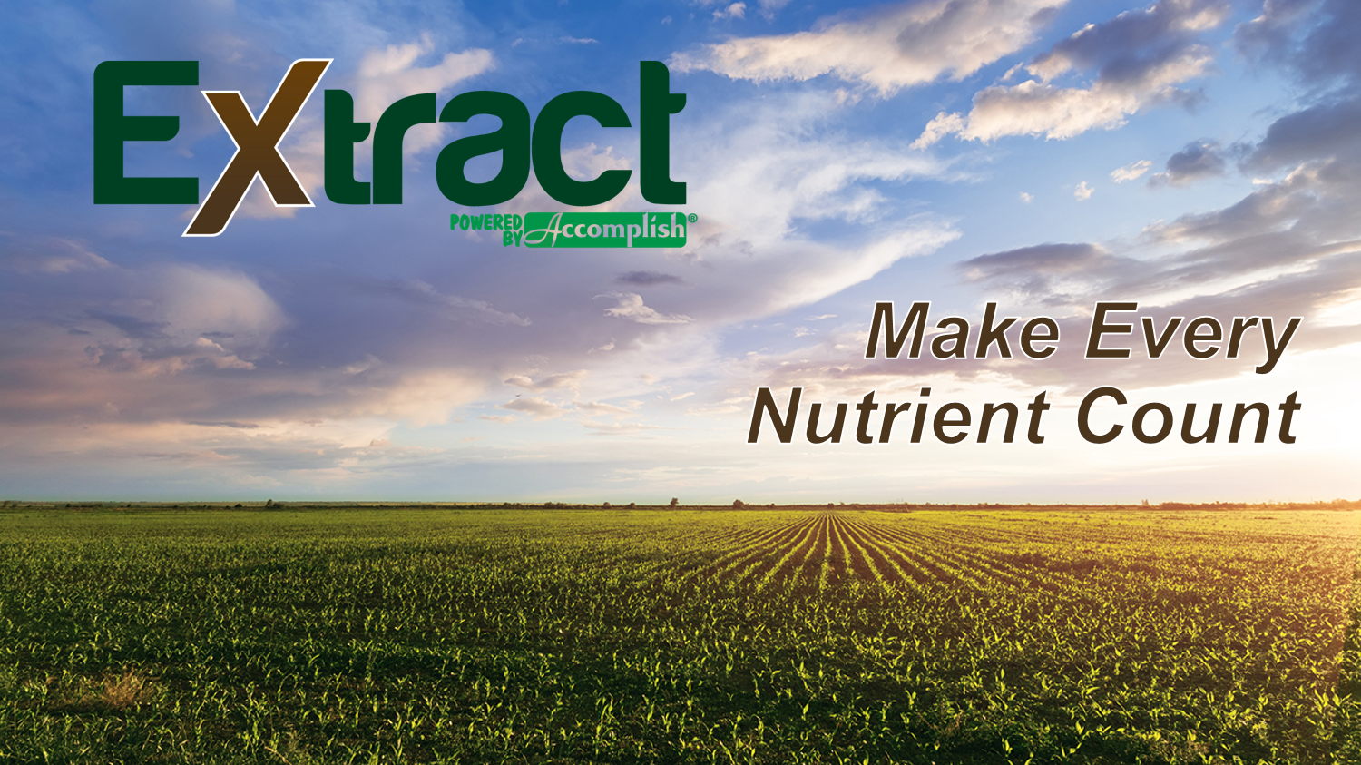 Extract  - Make Every Nutrient Count