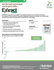 Extract PBA with Corn, Soybean & Wheat Study (Multi-state)