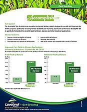 Accomplish LM_Poultry Litter_Corn