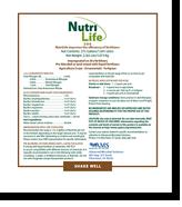 NutriLife_label